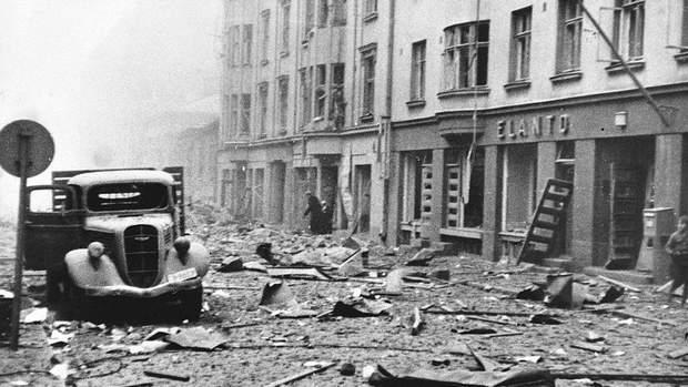 Бомбарувадння в Гельсінкі