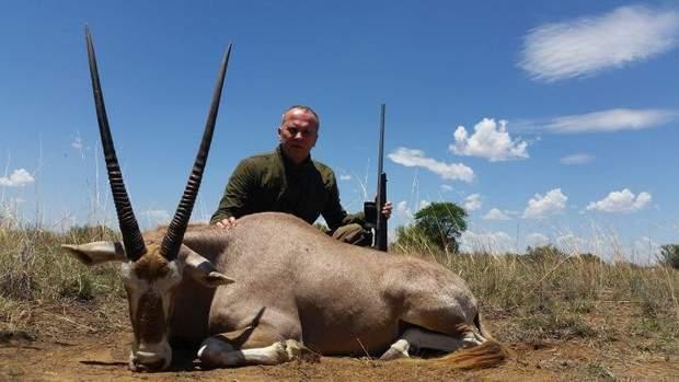 Шуфрич і вбита антилопа