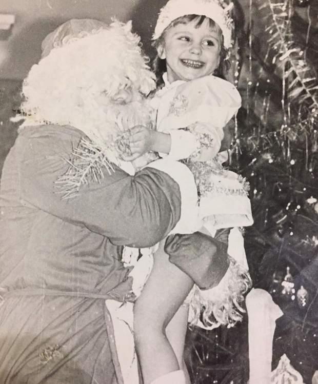 Лілія Ребрик у дитинстві
