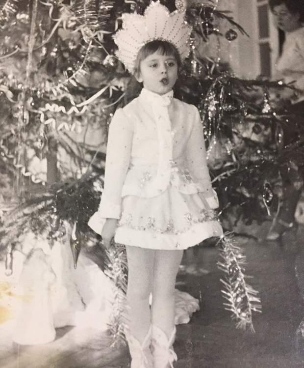 Лілія Ребрик на новорічному фото