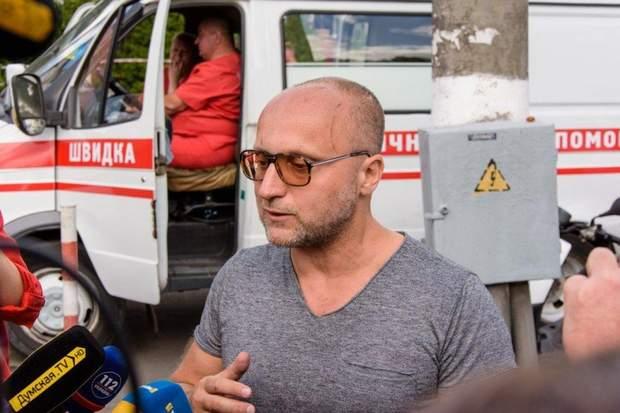 Вадим Чорний пожежа Одеса готель