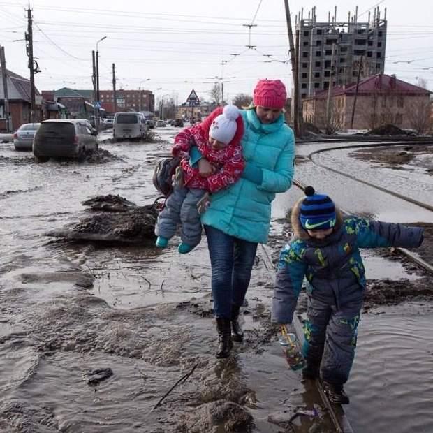 россия дети и мать