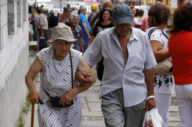 пенсії, виплати пенсіонерам