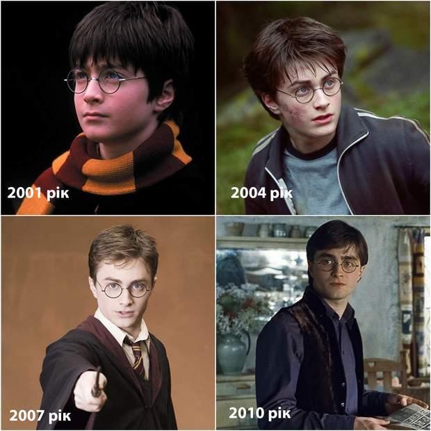 Гаррі Поттер як виглядали актори тоді і зараз