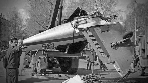 Літак після трагедії