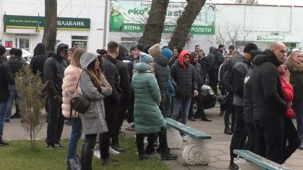 протест каховка