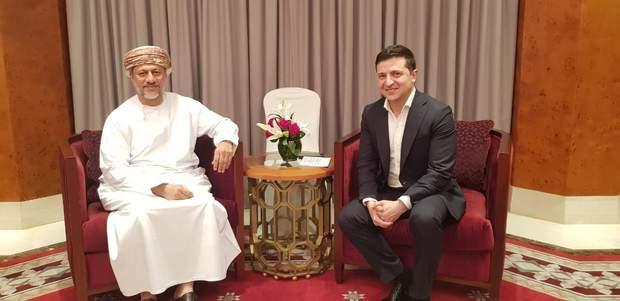 Зеленський, Оман, зустріч, Абдулсалам аль-Муршиді
