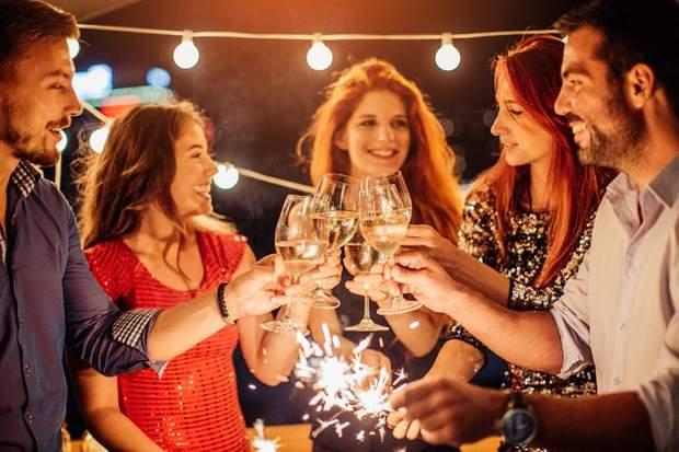Алкоголь на Новий рік