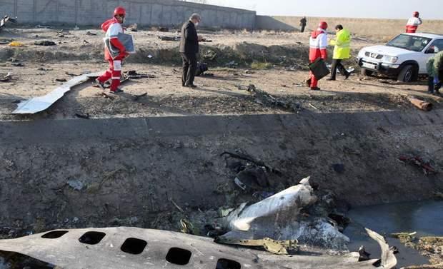 Український літак розбився в Ірані
