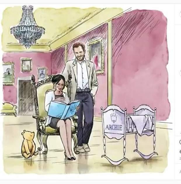 Принц Гаррі та Меган Маркл отримали чарівний подарунок від Disney