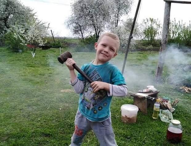 Вбитий 5-річний хлопчик
