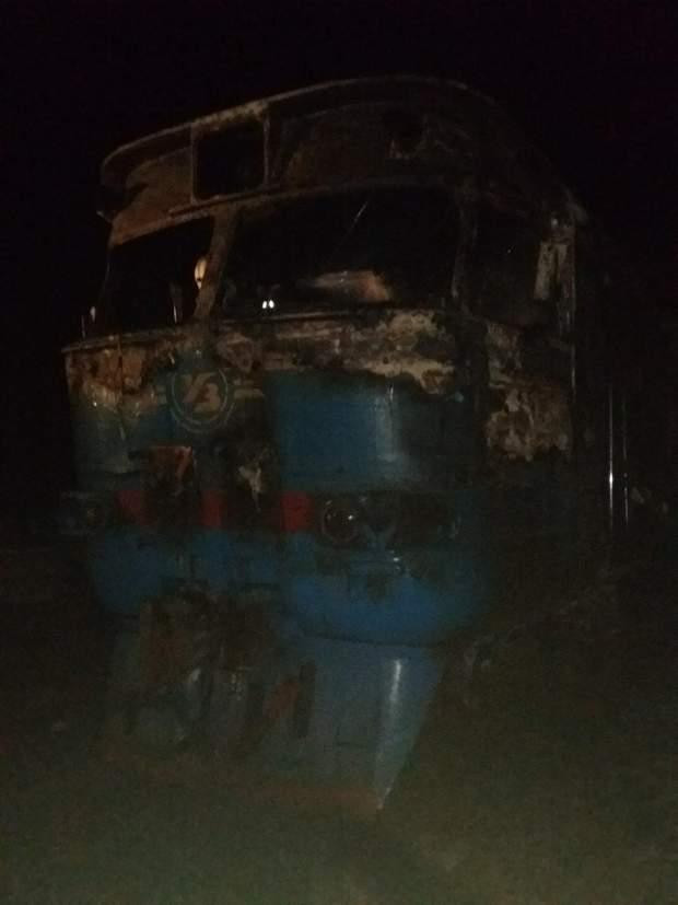 пожар, Сумская область, Тростянец, Боромля, дизель, поезд