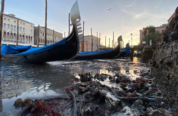 венеція канали засохли