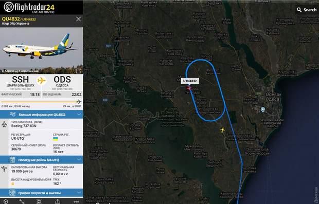 Туман, Одеса, Air Azur, Шарм-еш-Шейх, Київ, Бориспіль, авіація