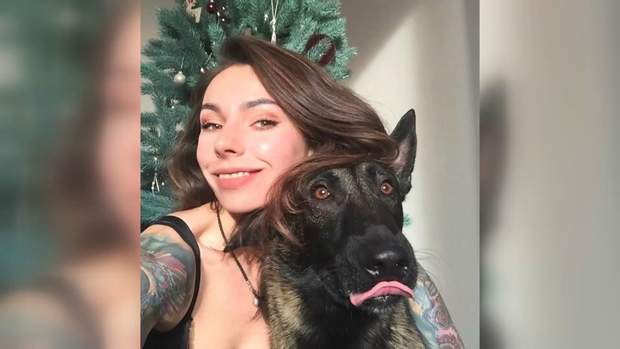лігаєва та пес