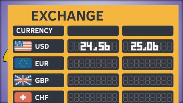 гривня долар