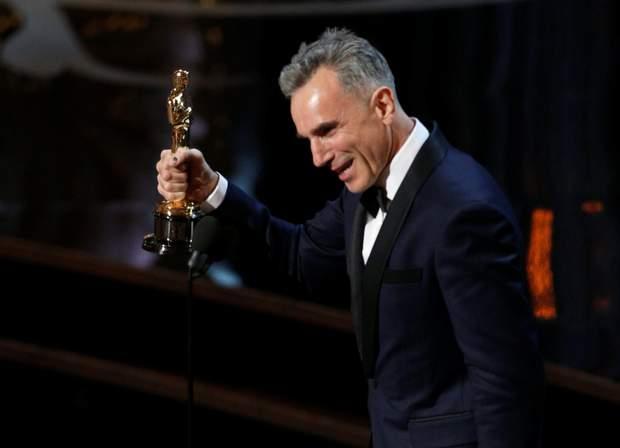 Деніел Дей-Люїс Оскар 2013 володар трьох Оскарів