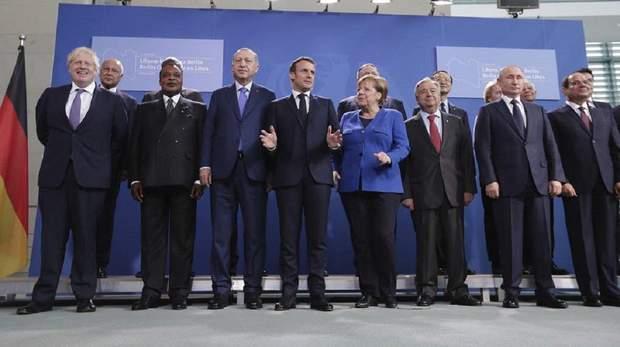 Війна у Лівії, берлінський саміт