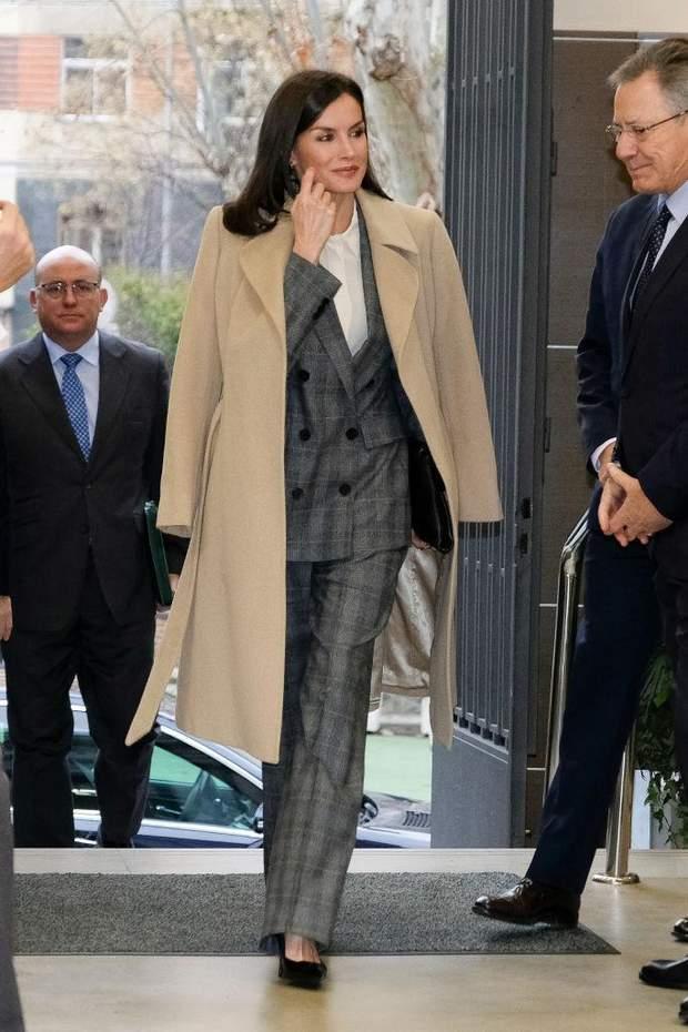 Королева Летиція в Мадриді