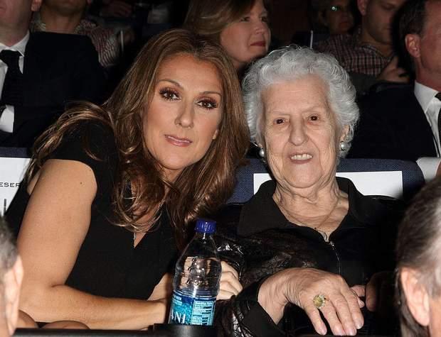 Селін Діон з матір'ю Терезою