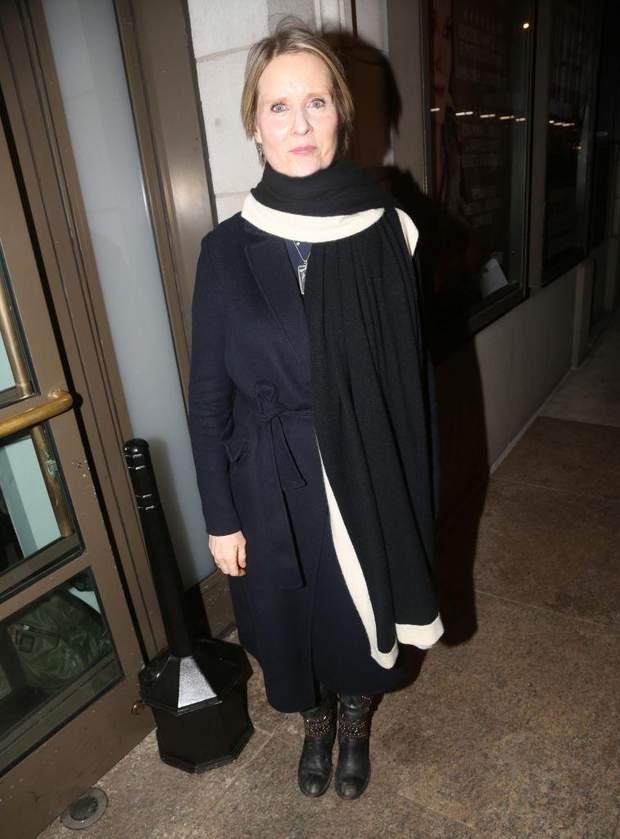 Синтія Ніксон у Нью-Йорку
