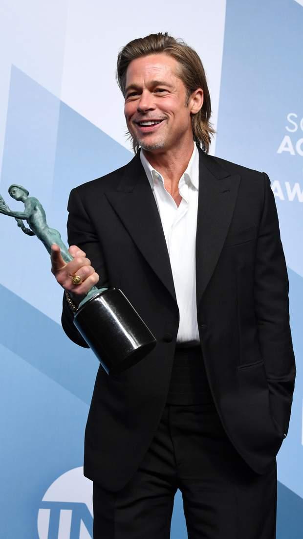 Бред Пітт на SAG Awards 2020