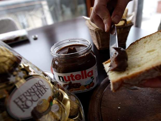 Знаменита паста Nutella