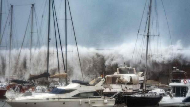 шторм глорія іспанія