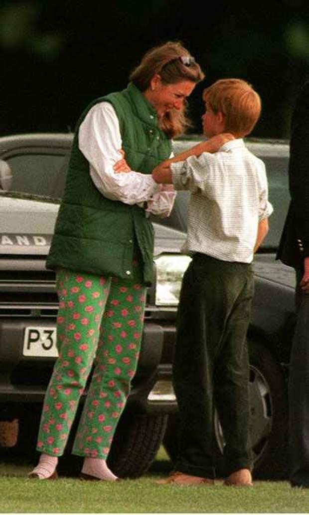 Тіггі Петтіфер з принцом Гаррі