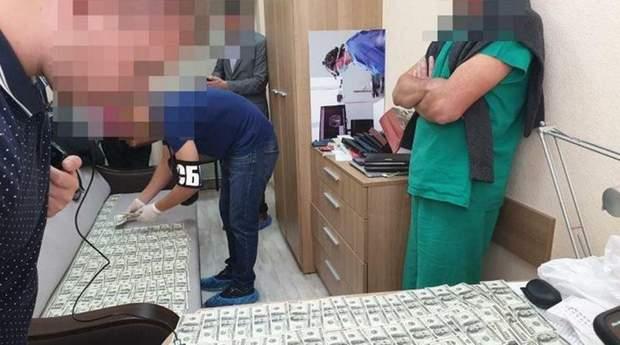 котенко лікар затримання сбу хабар