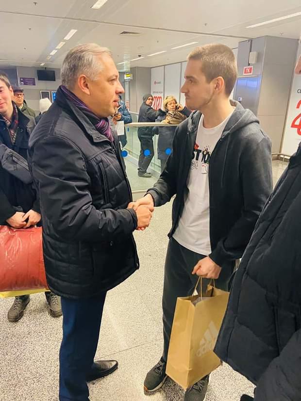 Роман Золотарьов повернувся з Малайзії в Україну