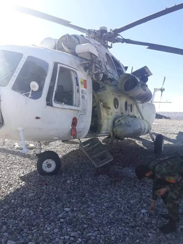 В Афганістані збили вертоліт