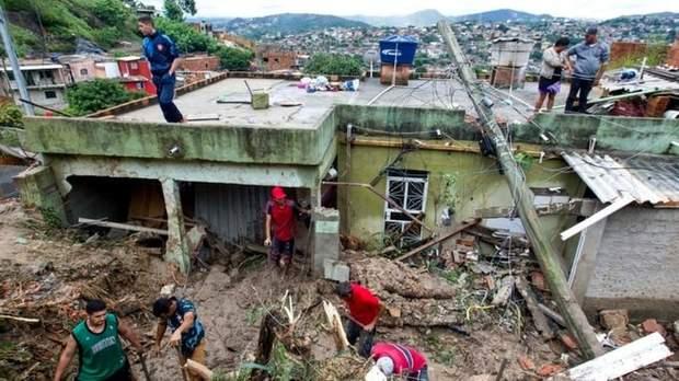 бразилія зливи погода жертви