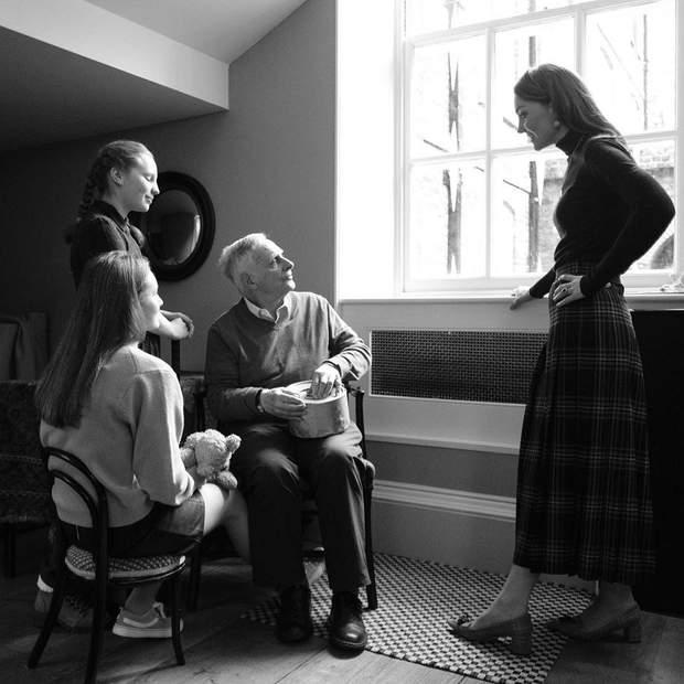 Кейт Міддлтон запросила до палацу людей, які вижили під час Голокосту