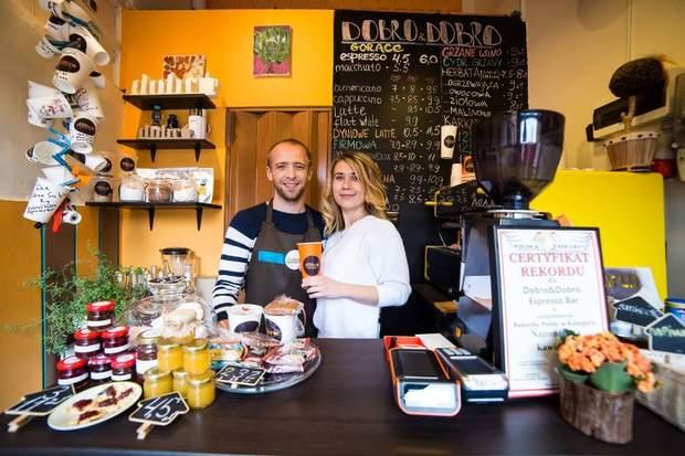 Українські підприємці відкрили кав'ярню у Польщі