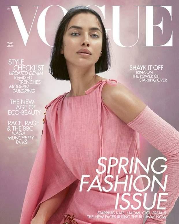Ірина Шейк на обкладинці Vogue