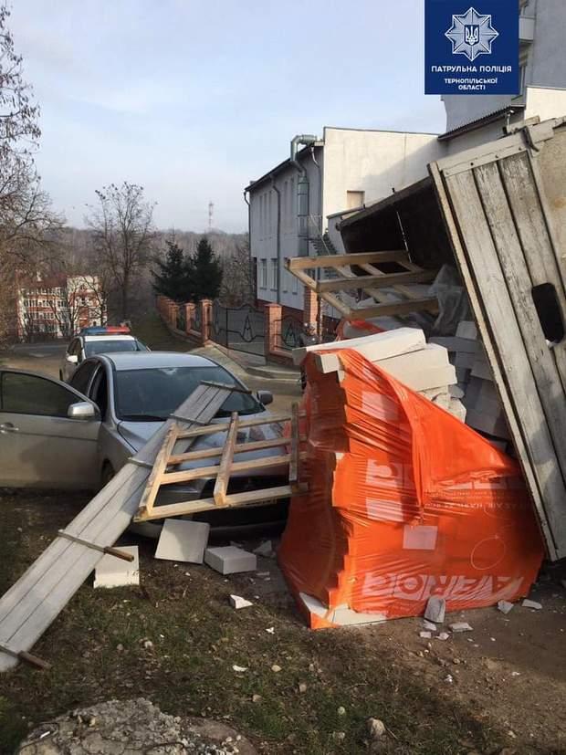 аварія з вантажівкою, Тернопіль