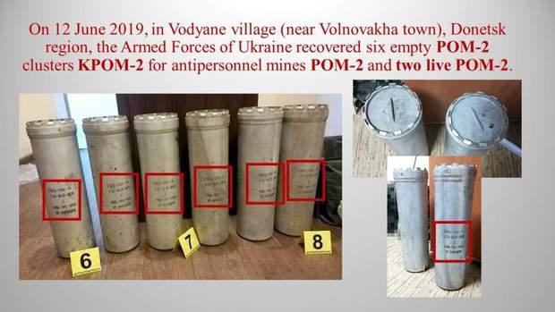 Красногорівка, Донбас. зброя. міни, ОБСЄ