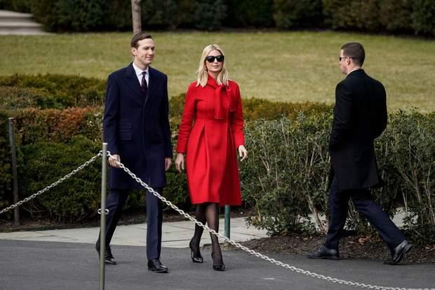Іванка Трамп з Джаредом Кушнером у Вашингтоні