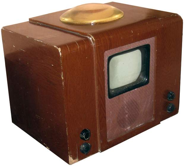 Перший телевізійний приймач