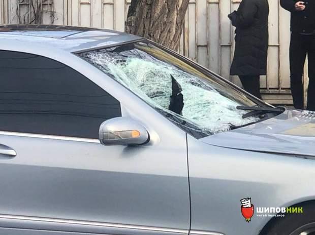 водій зіткнення збив жінку