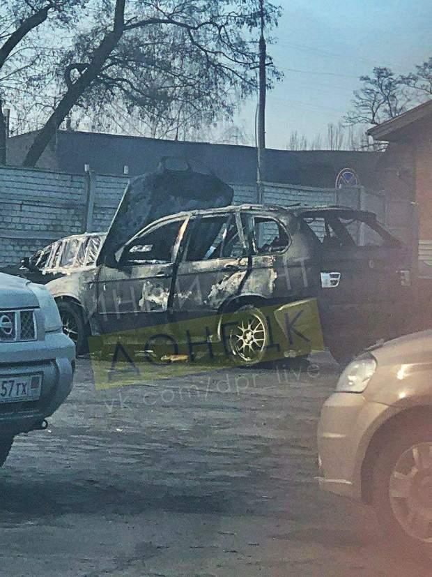 вибух у Донецьку, підрив авто