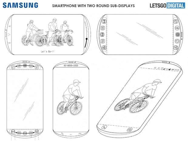 Samsung запатентувала футуристичний смартфон