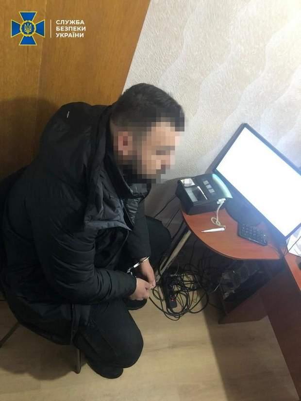 СБУ задержала пограничника-дезертира
