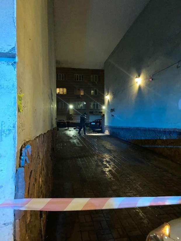 В центре Киева убили пластического хирурга: фото и видео