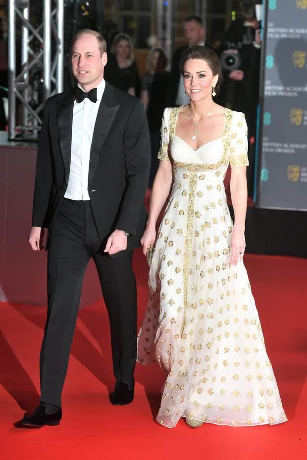 Принц Вільям і КЕйт Міддлтон на BAFTA 2020