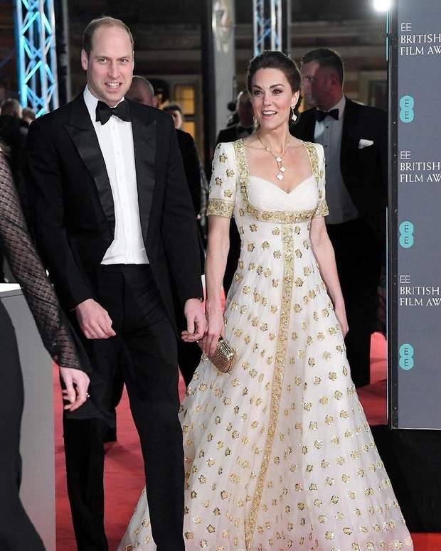 Кейт Міддлтон на BAFTA-2020
