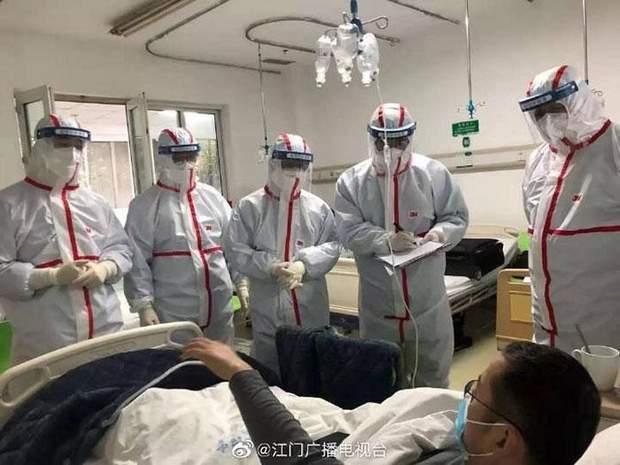 Лікування хворих на коронавірус в Китаї