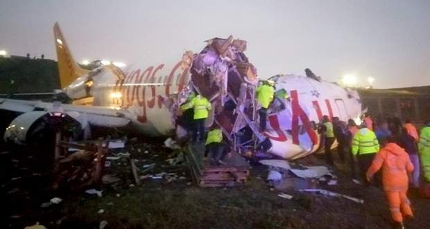 Туреччина, аварія літака у Стамбулі