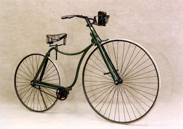Велосипед історія